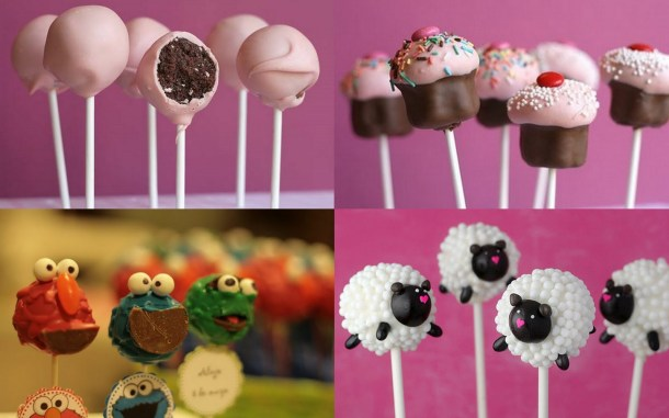 collage cake pops