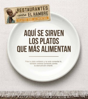 Restaurantes contra el hambre: platos quealimentan